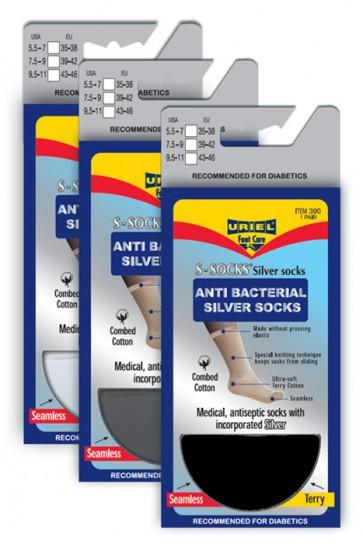 Diabetische zwart sokken