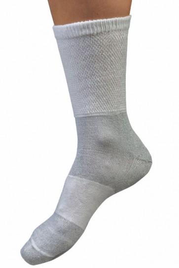 Uriel Diabetische wit sokken - Eenblessure.nl
